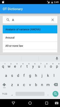 OT Dictionary apk screenshot