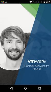 VMware Partner University poster