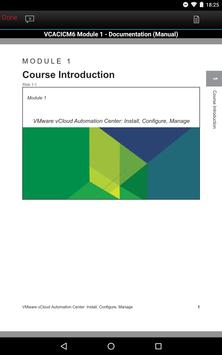 VMware Education Services apk screenshot