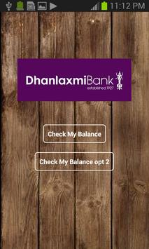 Bank balance checker apk screenshot