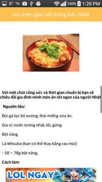 Sổ Tay Nội Trợ - Sổ tay nấu ăn apk screenshot
