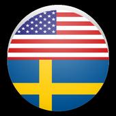 Learn English and Swedish icon