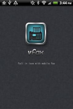 vFax - Free Fax to Anywhere poster