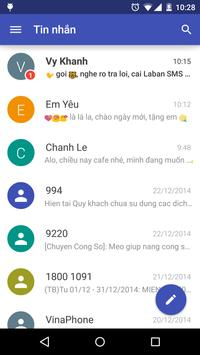 Laban SMS: spam blocker poster