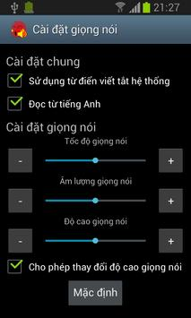 vnSpeak TTS - Thanh Bac apk screenshot
