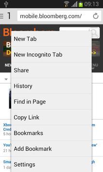 V Browser apk screenshot