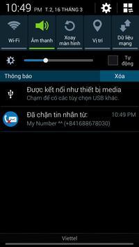 Free Call and Sms Blocker apk screenshot