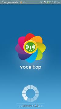 VocalTop poster