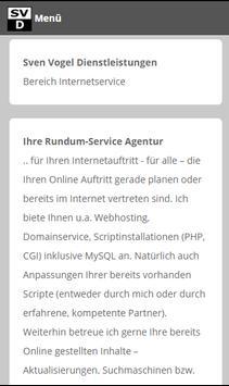 Sven Vogel Dienstleistungen apk screenshot