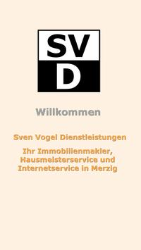 Sven Vogel Dienstleistungen poster