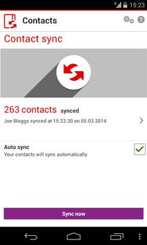 Vodafone Contacts poster
