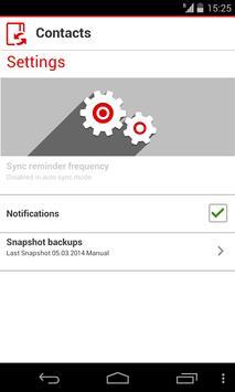Vodafone Contacts apk screenshot