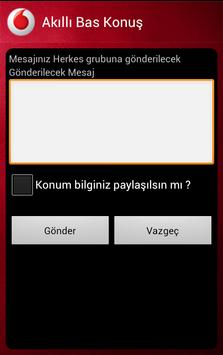 Vodafone Akıllı Bas Konuş apk screenshot