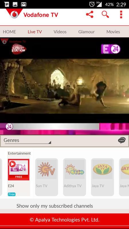 Vodafone Mobile Tv Live Tv Apk Download Free