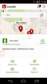 Vodafone Locate apk screenshot