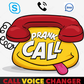 Voice changer during call icon
