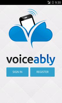 Voiceably Virtual Phone System poster