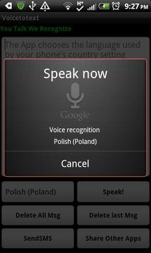 Voice To Text for Multi-Apps apk screenshot