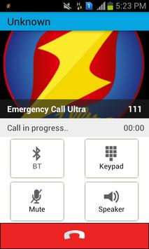 Emergency Call Ultra apk screenshot