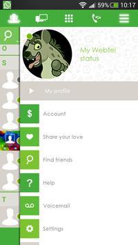 Webtel apk screenshot