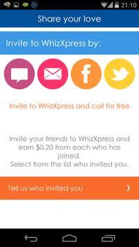 WhizExpress apk screenshot