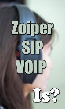 Tips Zoiper SIP VOIP Softphone poster