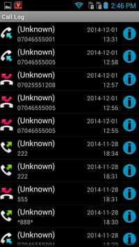 Visafone apk screenshot