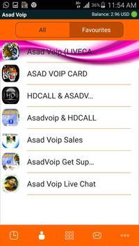 asadvoip apk screenshot
