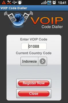 VoIP Code Dialler poster