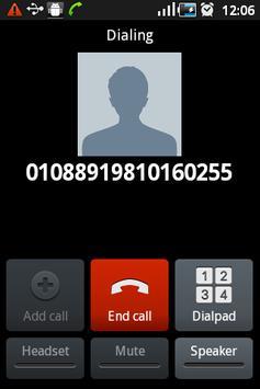 VoIP Code Dialler apk screenshot
