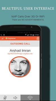 VoIP Mobile SIP Dialer Voiplid apk screenshot