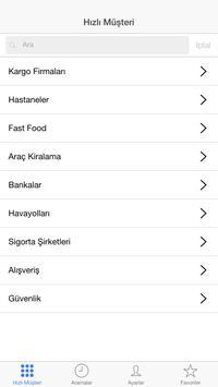 Hızlı Müşteri apk screenshot