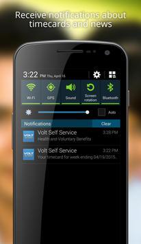 Volt Self Service apk screenshot