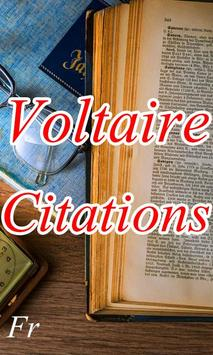 voltaire citations poster