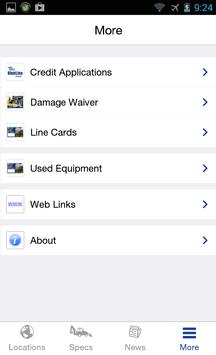 BlueLine Rental apk screenshot