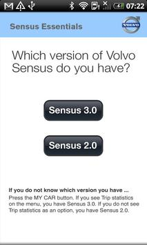 Volvo Sensus Quick Start Guide apk screenshot