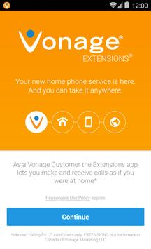 Vonage Extensions poster
