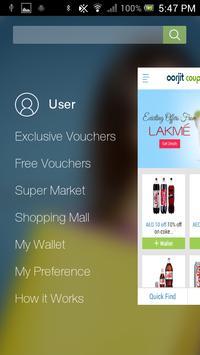 Oorjit coupons apk screenshot