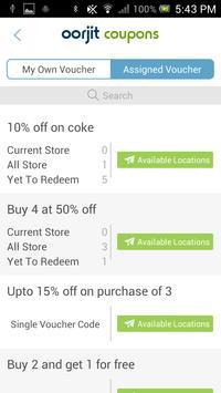 Coupons Merchant apk screenshot