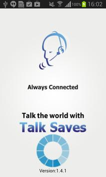 Talksaves poster