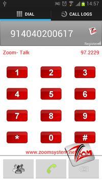 Zoom-Talk MoSIP apk screenshot