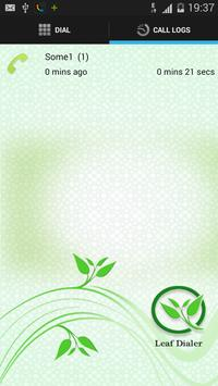 Leaf  Dialer apk screenshot