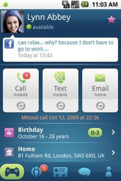 Phonebook 2.0 apk screenshot