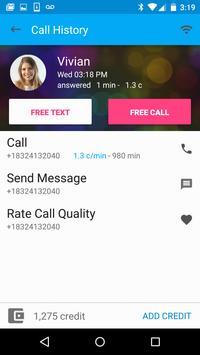 Free Calls & Text Messenger poster