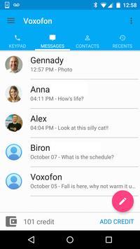 Free Calls & Text Messenger apk screenshot