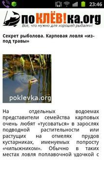 О рыбалке - справочник рыбака apk screenshot