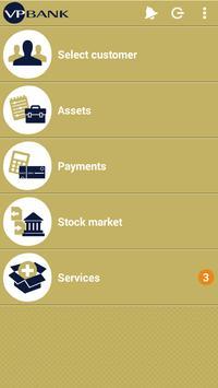 VP Bank e-banking mobile poster