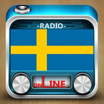 Sweden Radio Stations poster