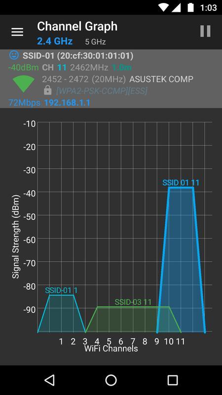 WiFiAnalyzer (open-source) APK Download - Free Tools APP ...