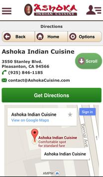 Ashoka Indian Cuisine apk screenshot